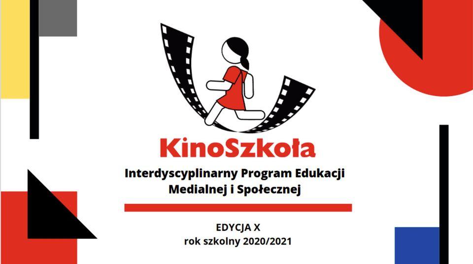 Logo programu KinoSzkoła